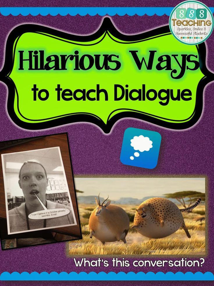 Introducing Dialogue Activities