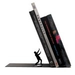 Falling Bookend: Ideas, Gift, Bookends, Metal Bookend, Stuff, Artori Design, Products