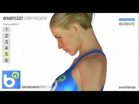 Esercizi per la cervicale infiammata : semplici rimedi contro il dolore..