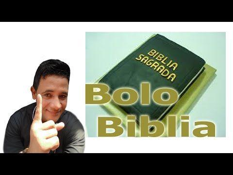 Bolo Livro da Biblia Sagrada  uso de glacê marmore e pasta americana - YouTube