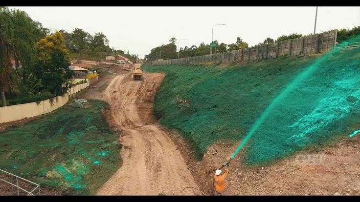 Global Road Technology - GRT Enviro Soil Binder (Green) Erosion and Sedi...