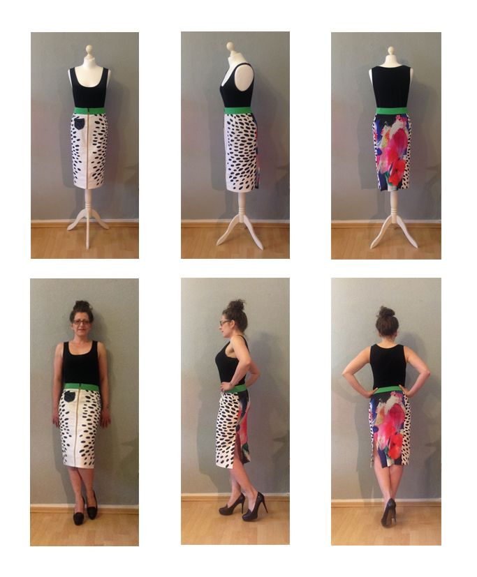 Skirt - designed & made by Kati