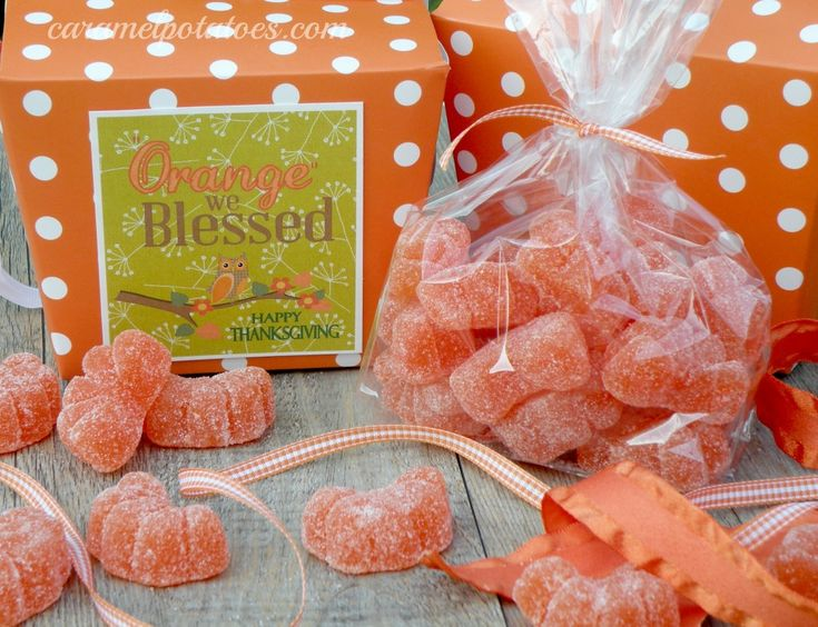 """Orange We Blessed"" Thanksgiving Gift Idea"