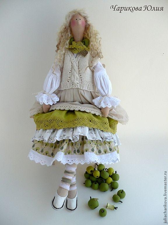 Бохо.Август.Яблочный спас - салатовый,тильда,бохо,бохо-стиль,подарок на любой случай