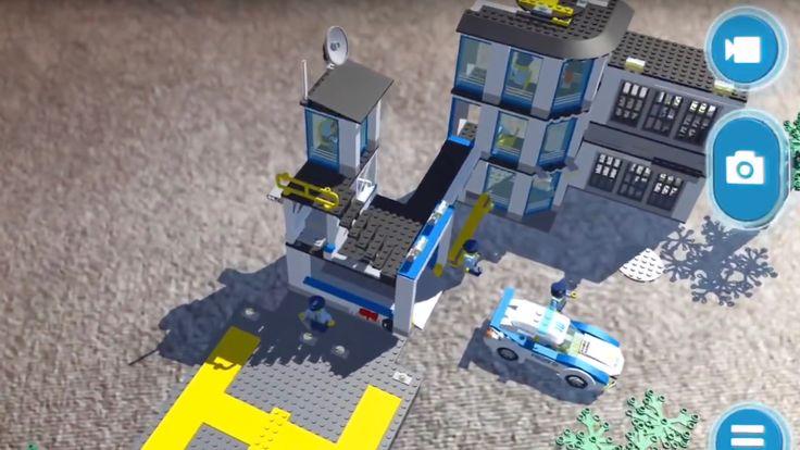 LEGO anuncia una nueva ARKit basado AR Studio app, mezclas físicas y virtuales de LEGO fun