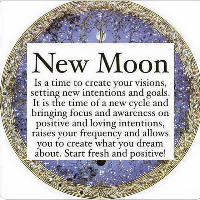 new moon more moon today new moon manifestation moon process http ...