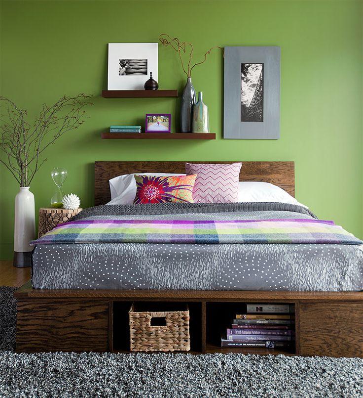 DIY Platform Bed from Lowes Creative Magazine DIY