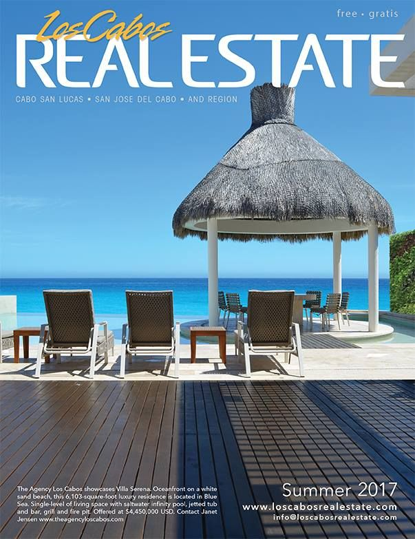 We're excited to ANNOUNCE Los Cabos Real Estate Magazine's SUMMER 2017 ISSUE is NOW on NEWS STANDS!! Be sure to look for them at your local real estate office, or preview our virtual e-mag online today!
