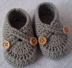 Resultado de imagen para zapatitos crochet