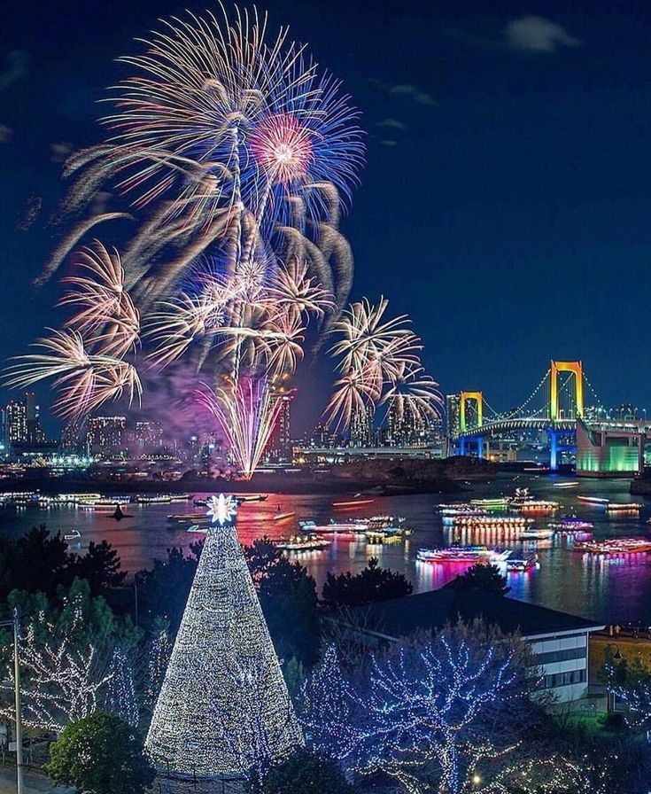 фото новый год токио это, если будете