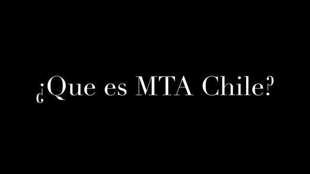 Nuestro Director de Comunicaciones Rodrigo Zorzano Faúndez nos explica que es MTA Chile.