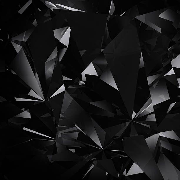 Abstract Black Facet Background Black Diamond Wallpaper Diamond Wallpaper Black Diamond
