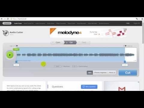 MP3 zene fájl vágása online | ~drupal lady :-)~ oktatási blogja