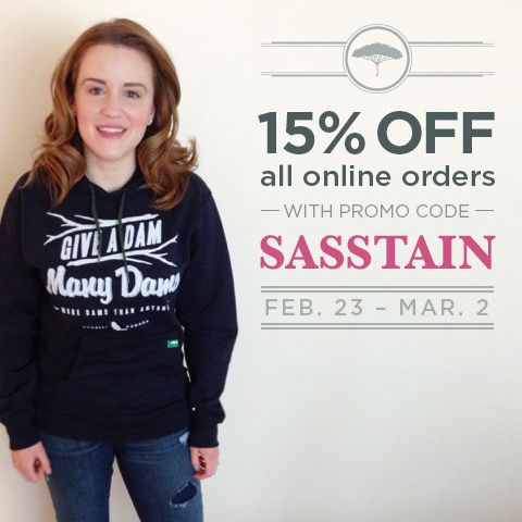 ON NOW // 15% off your entire order! #recycledclothing #sale #sasstainable @sasstainable