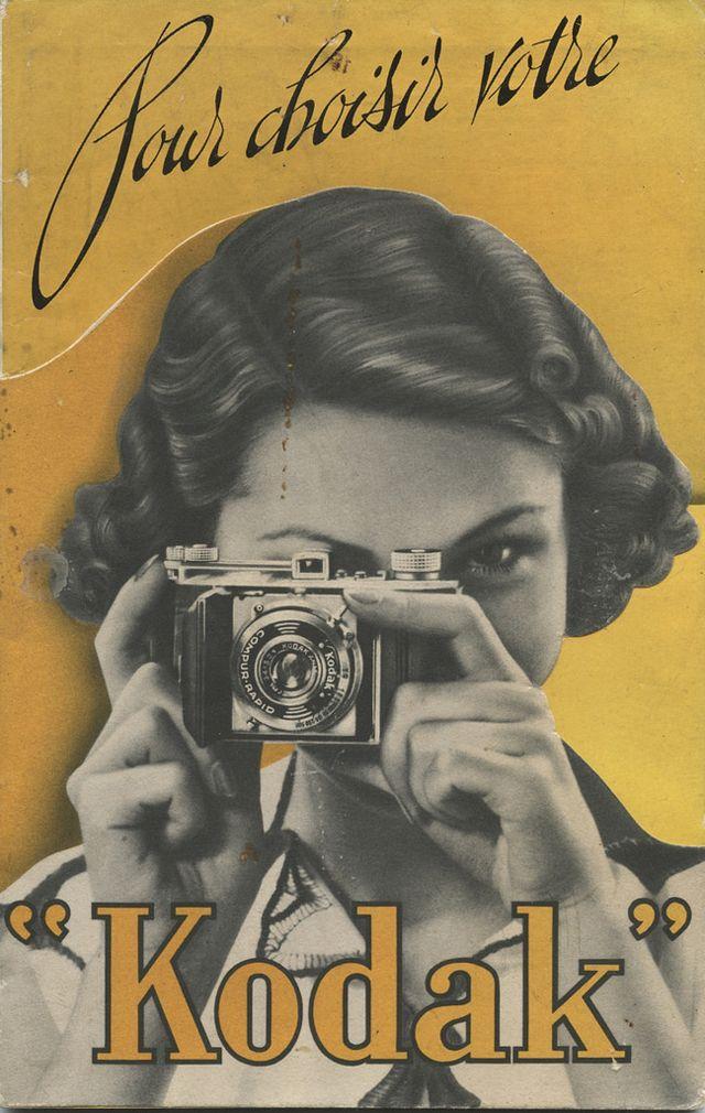 : Interesting Photos of Catalog Kodak Covers through the Years