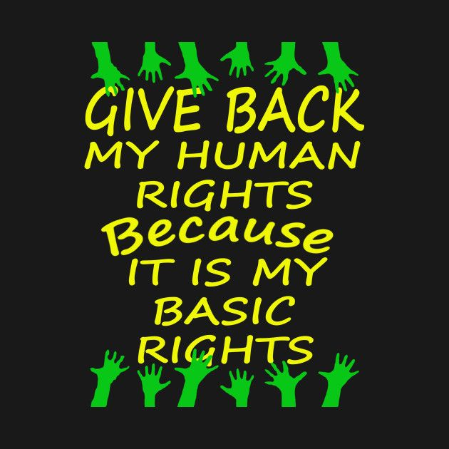 Check out this awesome 'Human+Rights+Day+3+t-shirt' design on @TeePublic!