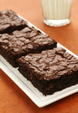 Gluten Free Brownies made with Premium Gold True Cold Milled Flaxseed!