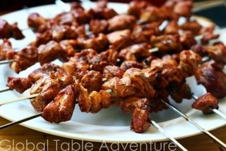 Spiced Lamb Kabobs (Broasheht) | yum | Pinterest
