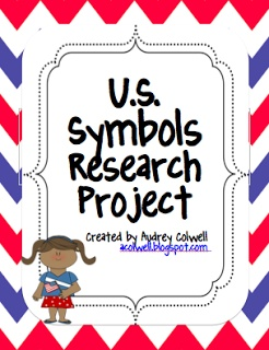 Mrs. A-Colwell's Class: U.S. Symbols Research Project - QR Codes & Notebook!