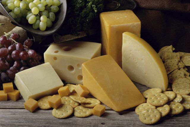 How 8 Famous Cheeses Got Their Names   Mental Floss....I KNEW no American would have named that awful cheese after his own country!