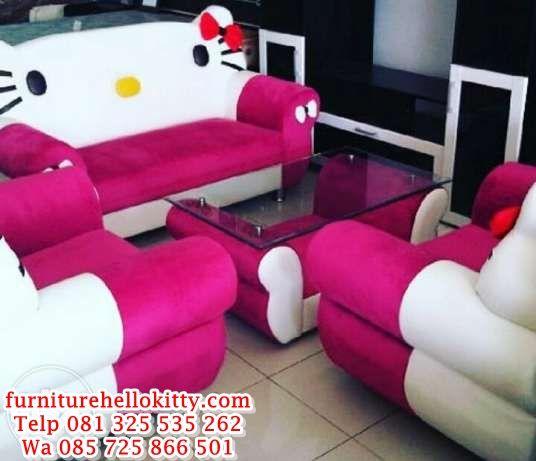 75+ Gambar Kursi Sofa Anak Hello Kitty HD