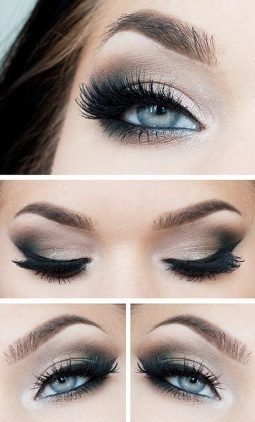 Maquillaje de fiesta para ojos claros | http://fotos.soymoda.net/maquillaje-de-fiesta-para-ojos-claros/