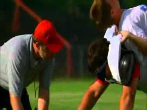 absolutely the best motivational video ever! From the movie Facing the Giants never seen the whole movie but this scene rocks ! never-give-up personal- ...