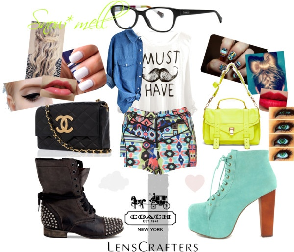 """Share Your Style with LensCrafters and Coach"" by snowmell on Polyvore"