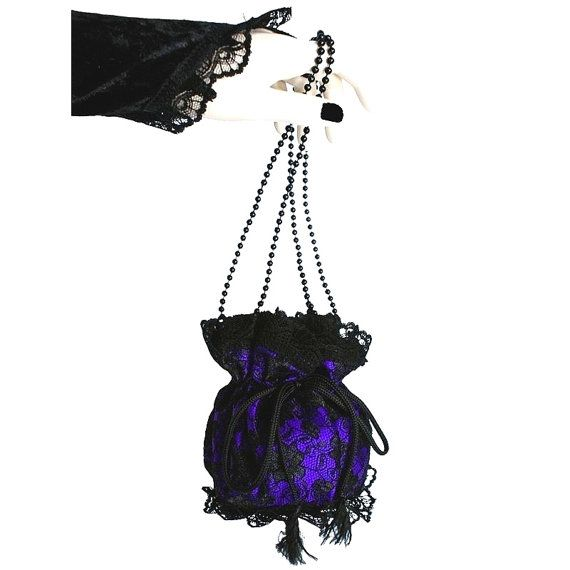 wristlets bag in pompadour victorian or gothic by FashionForWomen. https://www.etsy.com/listing/209264238/wristlets-bag-in-pompadour-victorian-or?ref=listing-shop-header-1