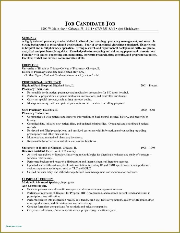 Clinical research associate resume awesome research skills