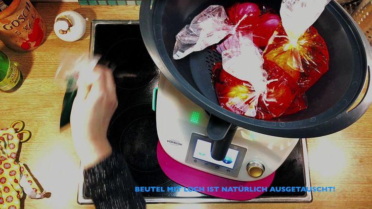 Osereier färben und kochen im Thermomix ®  In wenigen Handgriffen zum gefärbtem Osterei aus dem Thermomix ®