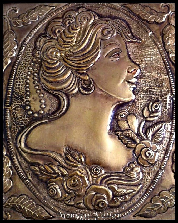 MIRIAN KELLER'S ARTS - Fazendo arte no metal do meu jeito... (METALOPLASTIA)