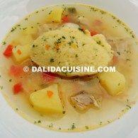 Supă de Găluști cu Pui