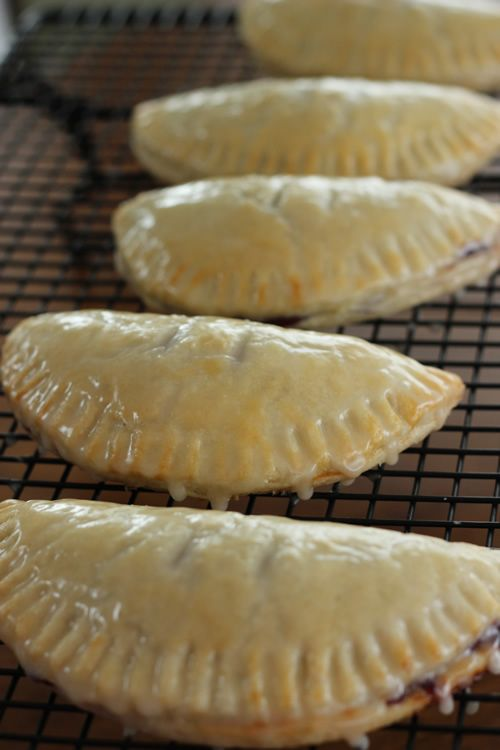 Easy Baked Hand Pies with Sugar Glaze