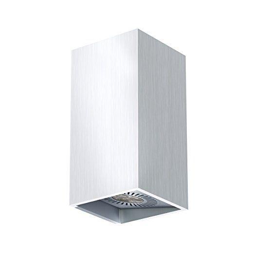 OSRAM LED-Wandleuchte /Tresol /silber /Innen /horizontale und vertikale Montage /LED-Spots 60° schwenkbar /4,5 Watt /warmweiß-3000K
