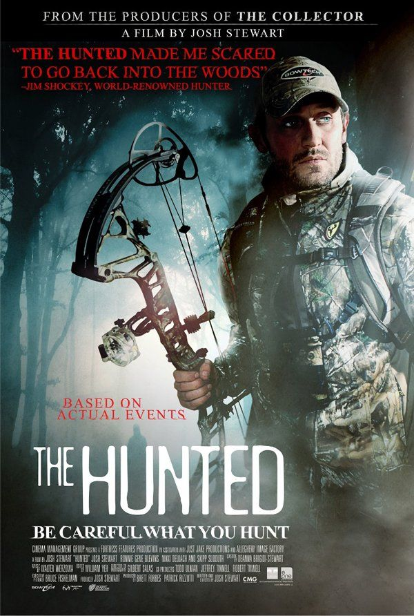 Josh Stewart's 'The Hunted' Poster - Hell Horror