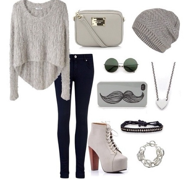 Cute Girl Outfits With Beanies