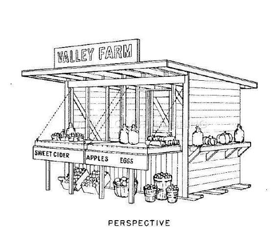 Vegetable Stand Designs : Best images about miniature market stalls on pinterest