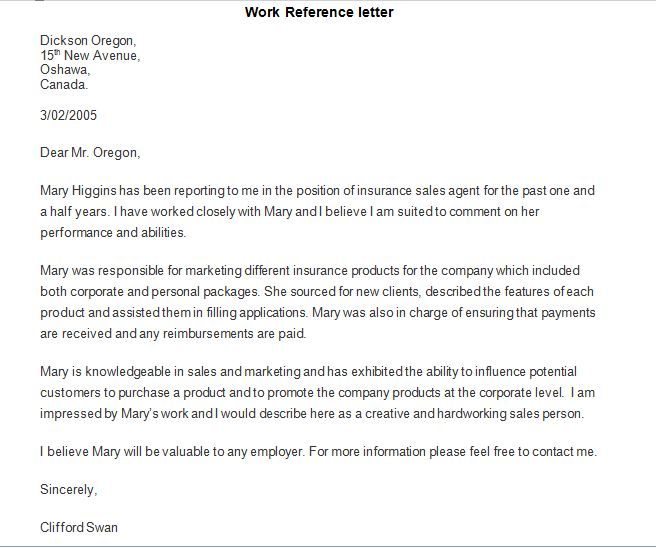Image result for reference letter MidTerm Bonus- Career - reference letter for coworker