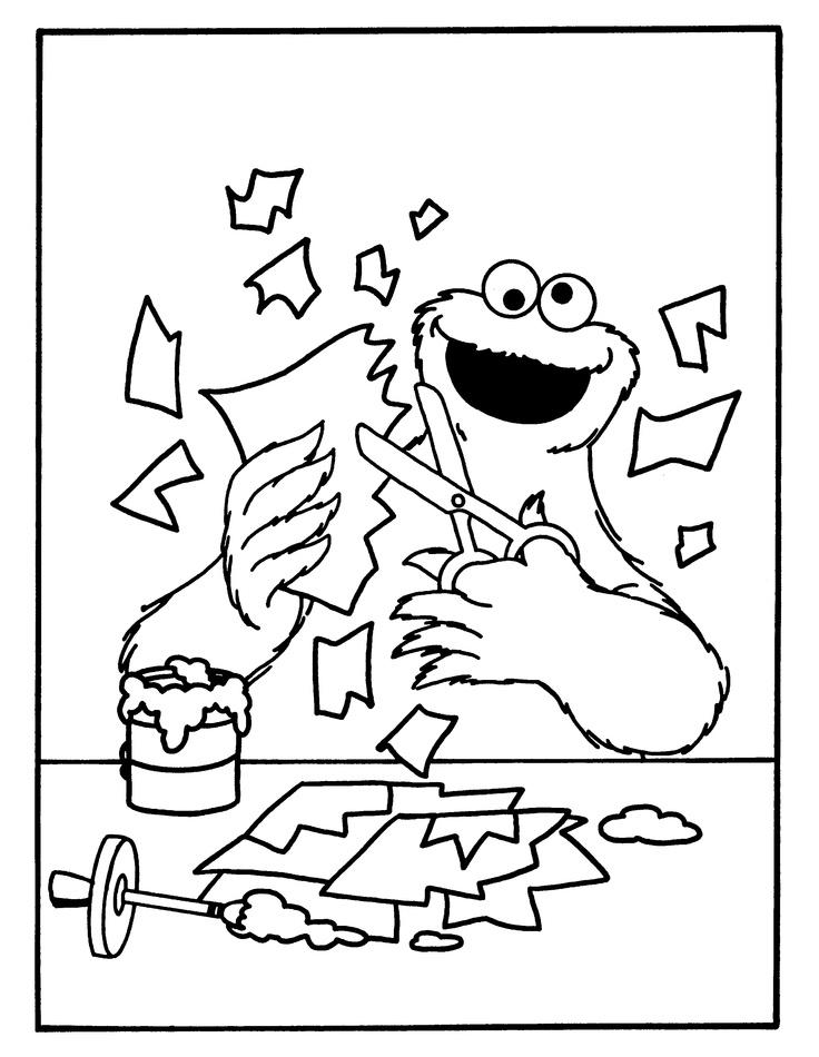 nageltjes knippen afval kleurplaten
