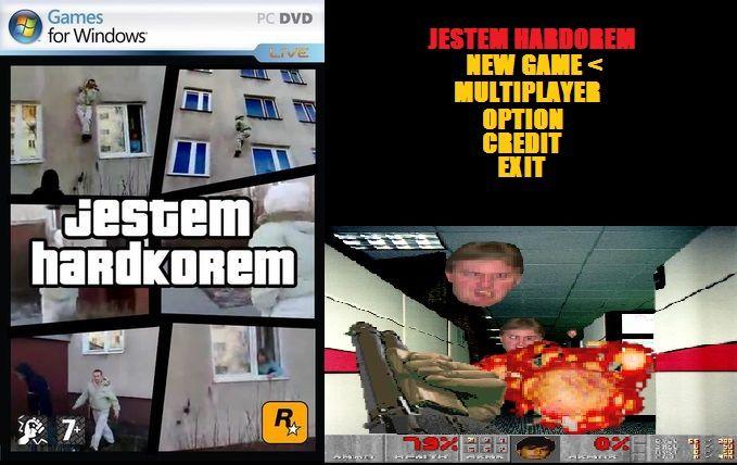 Jestem Hardkorem Grajmy Hardcore: the game