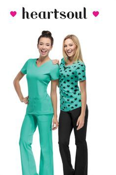 Heartsoul scrubs are so cute and soft! www.atozscrubs.com