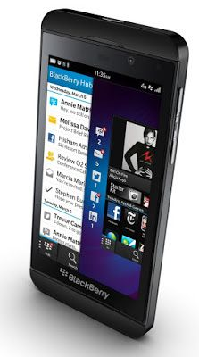 Retromobe - retro mobile phones and other gadgets: BlackBerry Z10 and Q10 (2013)