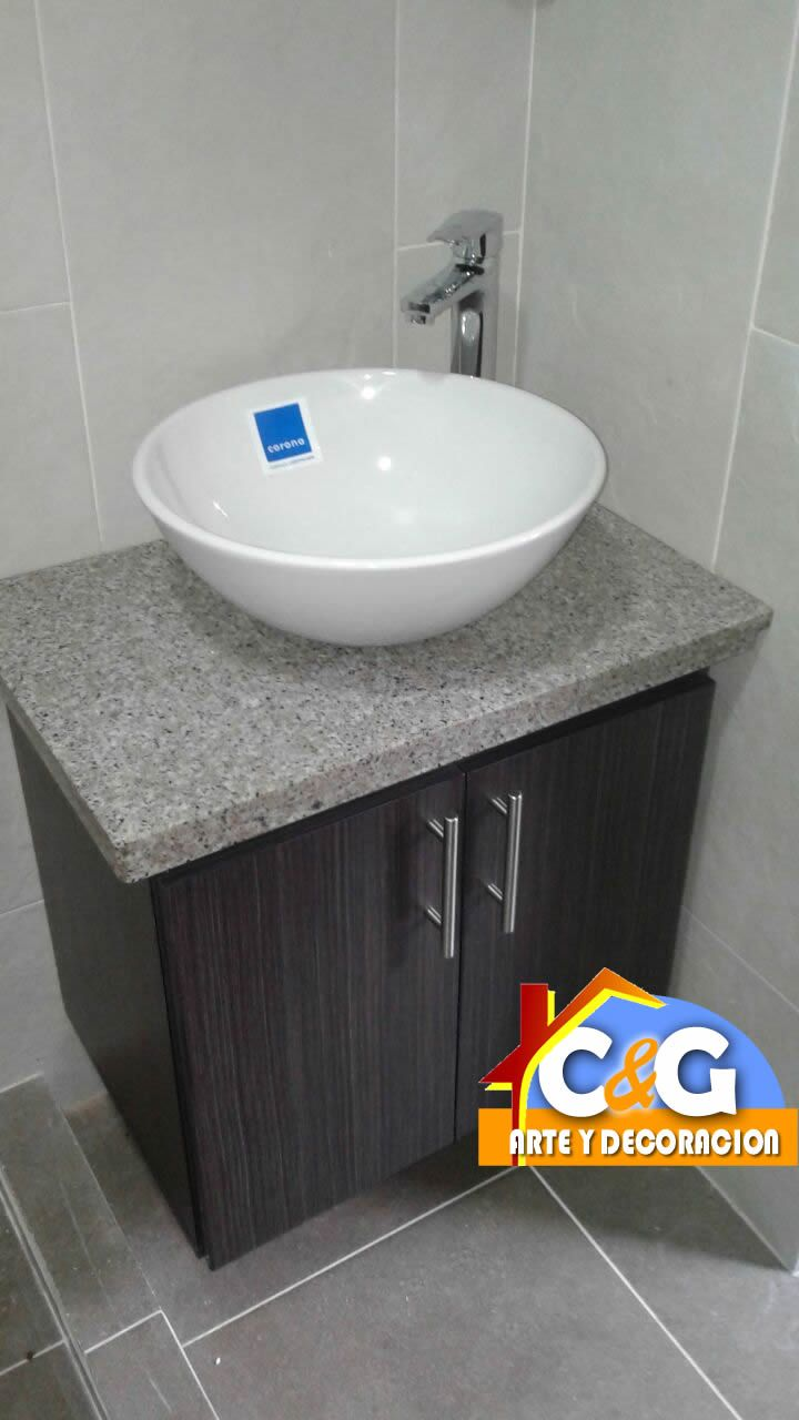 Fabricado por C&G Arte y Decoracion - Pereira   Bathroom ...