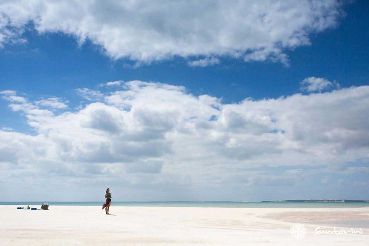 Beach lovers, scuba divers and fishing enthusiasts from all over the world are drawn to Mozambique's sandy white beaches. I can see why.