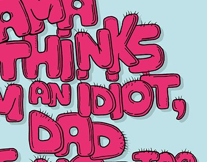 """Check out new work on my @Behance portfolio: """"I'm an idiot"""" http://on.be.net/1jrnAE6"""