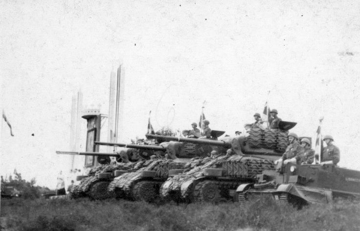 Order Of Battle 1st Polish Armoured Division North-West Europe 1944-45 During…