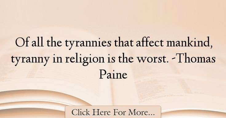 Thomas Paine Quotes About Religion - 58610