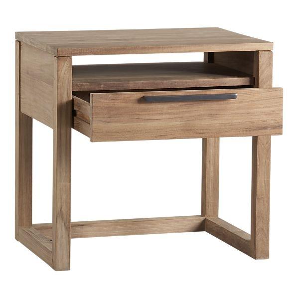 modern, light wood.