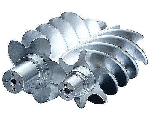 screw air compressor, big rotors